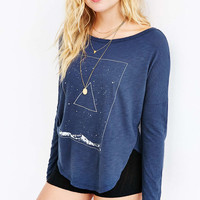 Truly Madly Deeply Meet The Sky Long Sleeve Tee - Urban Outfitters
