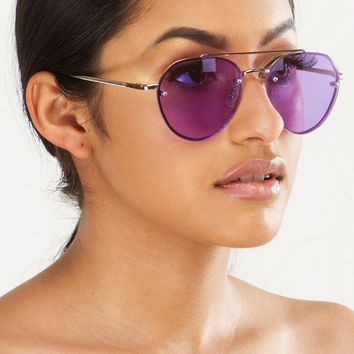 Sunglasses in Purple