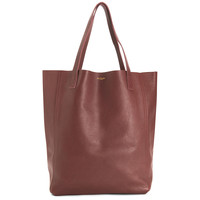 The Perfect Leather Tote Alpha Burgundy