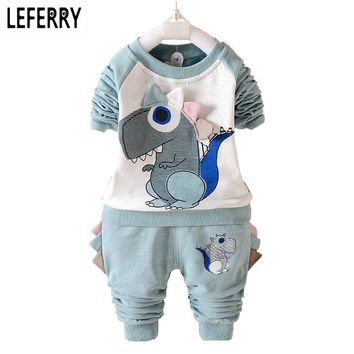 Dinosaur Kids Clothes Boys Girls Clothing Set Baby Toddler Boy Clothing Children Boutique Kids Clothing Outfits Autumn