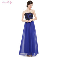 Long Prom Dresses Ever Pretty New Arrival Prom Dress 2017 Women Sexy Strapless HE08413SB Special Occasion Dresses