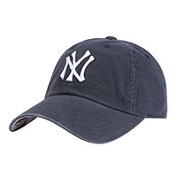 AMERICAN NEEDLE MLB Baseball NY Yankees Dad Hat, Navy