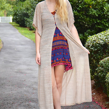 Fit and Flare duster