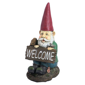 William the Welcome Garden Gnome