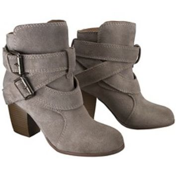 Women's Jessica Genuine Suede Strappy Boots - Ass... : Target