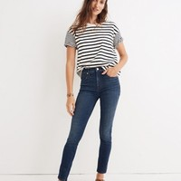 "10"" High-Rise Skinny Jeans in Elinor Wash: Eco Edition"