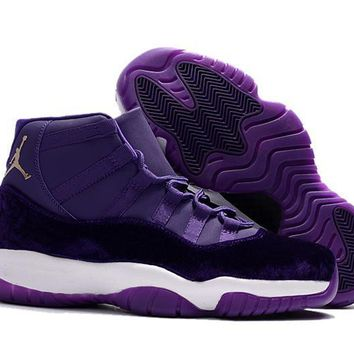 Air Jordan 11 Retro AJ11 Velvet Heiress Purple Sneaker Shoes US7-13