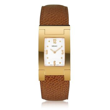 18K Gold Plated Watch by Versace