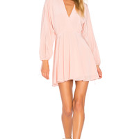 Amanda Uprichard Crystal Dress in Dusty Rose | REVOLVE