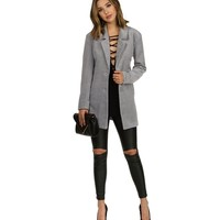 Heather Gray In The City Peacoat