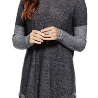 Two by Vince Camuto Plaited Asymmetrical Crewneck Pullover | Nordstrom