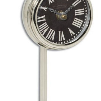 Uttermost Pocket Watch Nickel Marchant Black - 06071