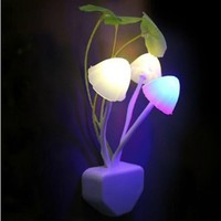 Changeshopping(TM) Fashion New Home Decor Energy Saving Creative Design LED Night Light Bed Lamp