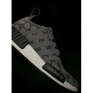 Gucci x Adidas NMD Trendy Casual Casual Shoes F