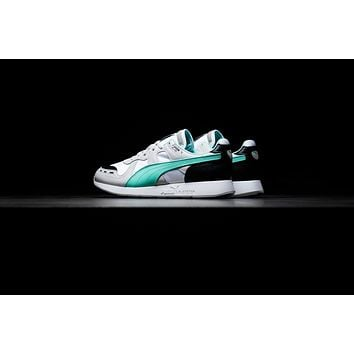 AA QIYIF Puma RS-100 Re-Invention - Gray Violet/Biscay Green/White