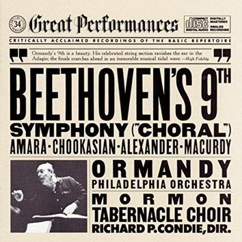 "Beethoven & Eugene Ormandy & Richard Condie & Lucine Amara & John Macurdy & Lili Chookasian & Mormon Tabernacle Choir & John Alexander & &                   5                  more - Beethoven: Symphony No. 9 in D Minor, Op. 125 ""Choral"""