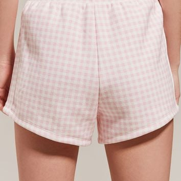 Champion + HVN for Urban Outfitters Gingham Track Short | Urban Outfitters