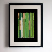 Radiohead 'Kid A' Poster Print - Album As Books