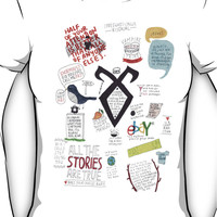 The Mortal Instruments collage Women's T-Shirt