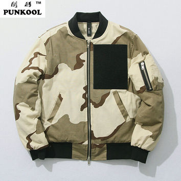 Hiphop Swag Bomber Military Jacket