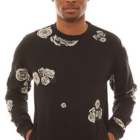 The 10 Deep Sweatshirt Ghost Roses Crewneck