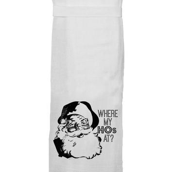 Twisted Wares - Where My Hos HANG TIGHT TOWEL
