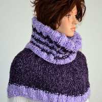Hand Knitted Winter Cowl