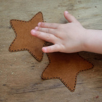 Star Applique Patch on elbows - Kids / Baby