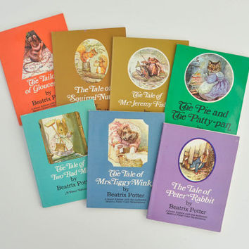 Vintage Beatrix Potter Book Collection - Boxed Set - The Tale of Peter Rabbit and Other Favorite Stories - Dover Edition