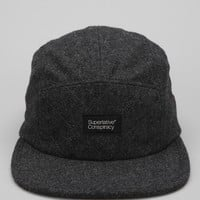 WeSC Quilted 5-Panel Hat  - Urban Outfitters