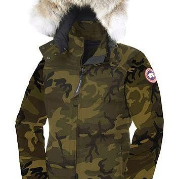 Canada Goose 'Chelsea' Slim Fit Down Parka with Genuine Coyote Fur Trim | Nordstrom