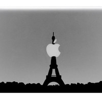 Eiffel Tower Skyline Macbook Decal / Macbook by BengalWorks