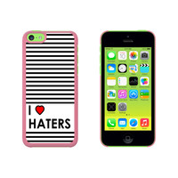 I Love Heart Haters Case for Apple iPhone 5C