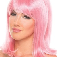 Doll Wig Pink