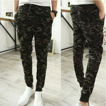 Fashion Combat Military Camouflage Camo Men's Casual Pants Joggers Sport Sweatpants Trousers [9221789700]