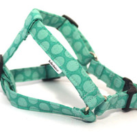 Dog Harness, Step-in Dog Harness, Mint Dog Harness