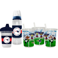 Baby Fanatic New England Patriots Grow with Me Drink Set