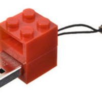 Zip Zip | Purchase USB flash Memory bricks encased in a small toy brick