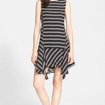 Women's A.L.C. 'Fain' Stripe Silk Dress