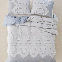 Clipper Jacquard Woven Duvet Cover | Urban Outfitters