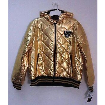 NFL Big Man Women's Golden Hoodie