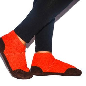 Men & Women Cashmere and Leather Shoes