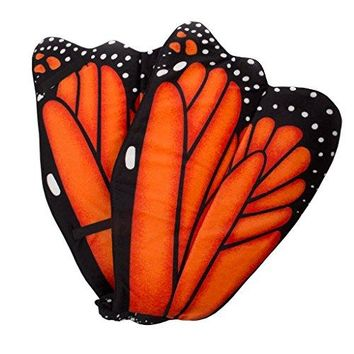 Wildlife Tree Plush Wings for Kids Cosplay Pretend Play Animal Party Costumes