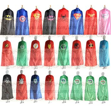 55inch/140cm Adult capes for Halloween party favors