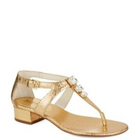 Shoes | Embellished | Lynn Thong Sandals | Lord and Taylor