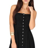 Black Flowy Dress at Blush Boutique Miami - ShopBlush.com