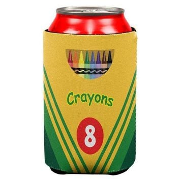 ESBGQ9 Crayon Box All Over Can Cooler