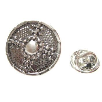 Medieval Shield Lapel Pin