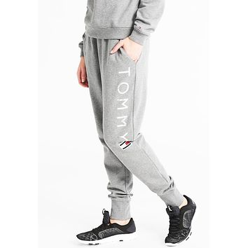 "x1love  ""Tommy Hilfiger"" Fashion Stretch Gym Sport Running Pants Trousers Sweatpants Trousers"