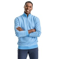 Hartnett 1/4 Zip Pullover in Marina by Southern Tide